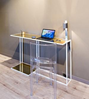 Bureau en fer peint - Apir