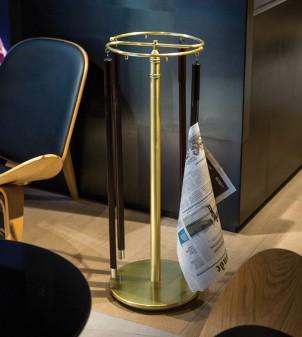 Porte-revue pour hotel en style classique et profil rond