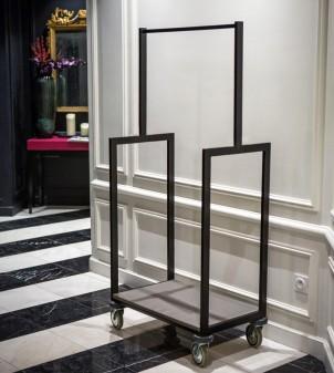 Chariot à bagage compact pour hôtel - APIR