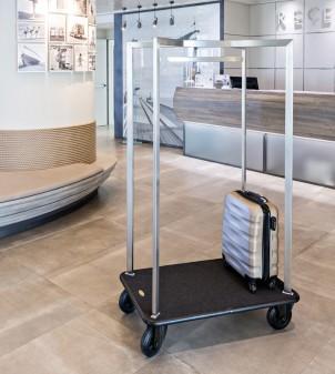 Chariot porte-bagage hôtel - Apir