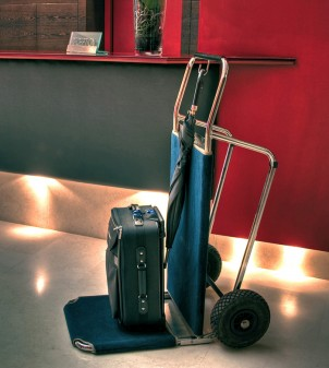 Chariot porte valises pliable LEO - APIR