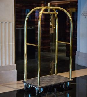 Chariot à bagage pour hôtel de luxe - APIR Design