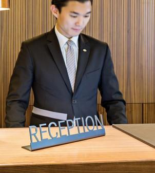 Plaque de comptoir Réception - Apir