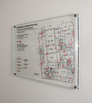 VERRE : Pictogramme de sécurité - Signalétique hôtel - APIR
