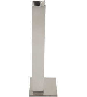 Cendrier inox pour une utilisation à l'intérieur et à l'extérieur