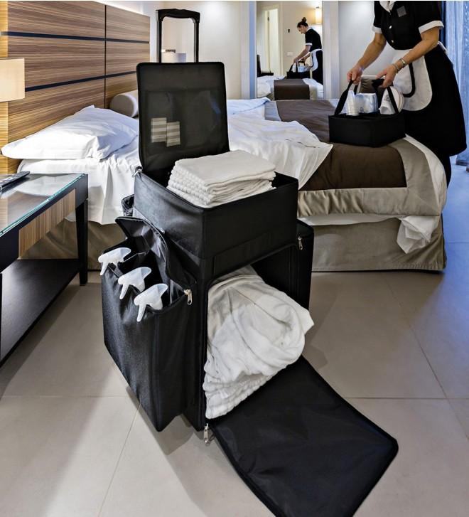 Chariot de ménage hôtel
