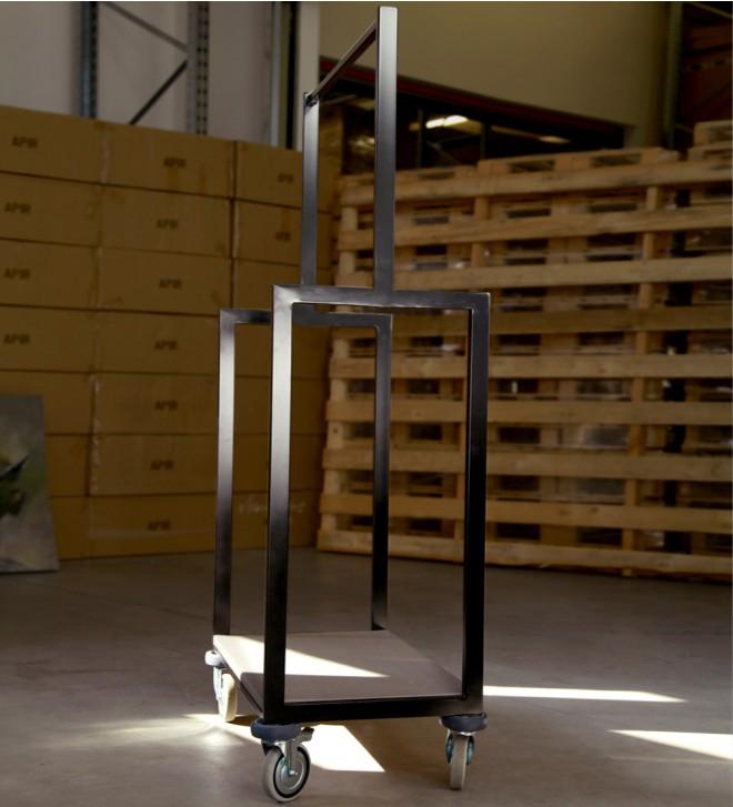 Chariot à bagage compact pour hôtel DUCCIO