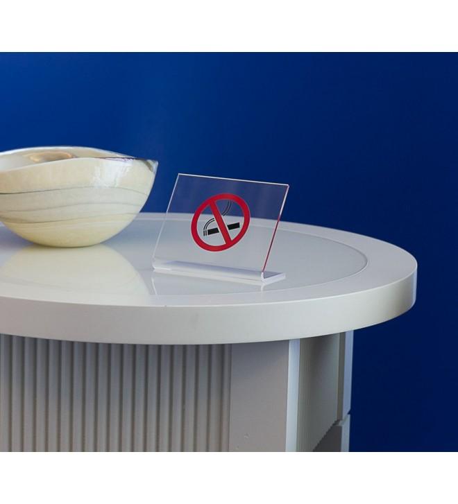 Chavalet de table en plexiglass