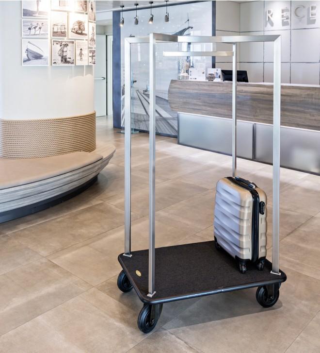 Chariot porte-bagage hôtel