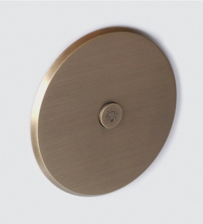 Plaque électrique ronde