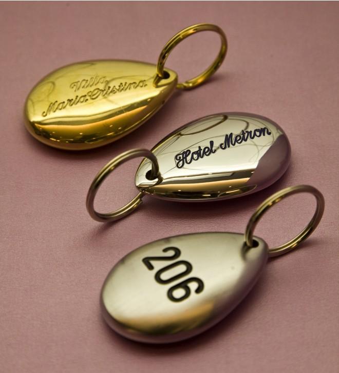 Porte-clés en laiton