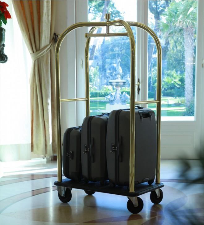 Chariot valise POLDO en métal