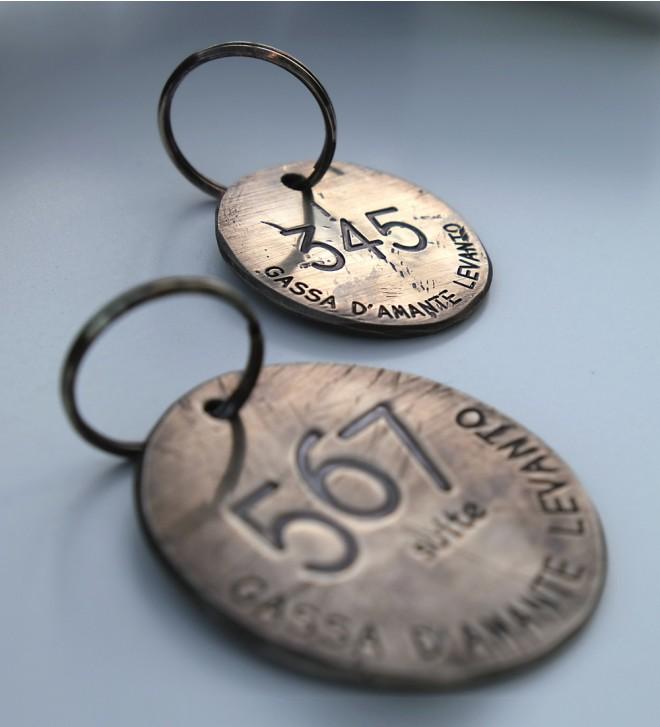 Portes-clés personnalisés pour hôtels
