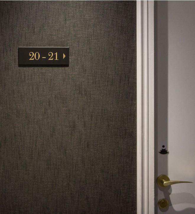 Plaque signalétique - Pictogramme YORK pour hôtel