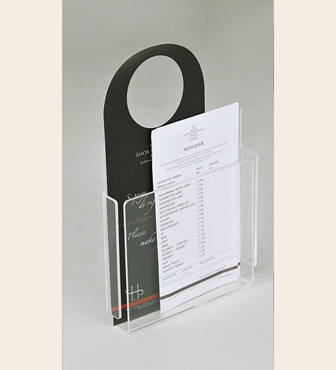 Support porte-objets et informations, trois tailles disponibles
