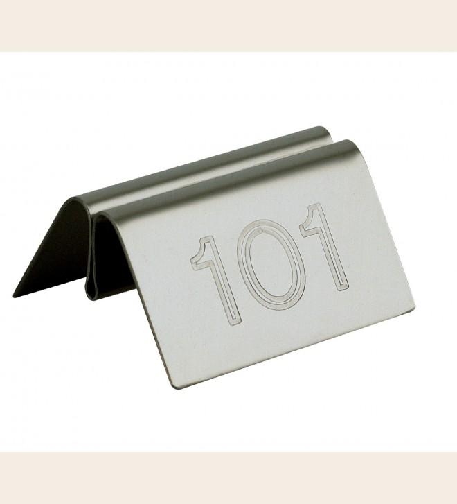 Numéro de table et support pour communication