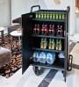 Chariot de service pour approvisionnement frigo bar. Modèle ouvert