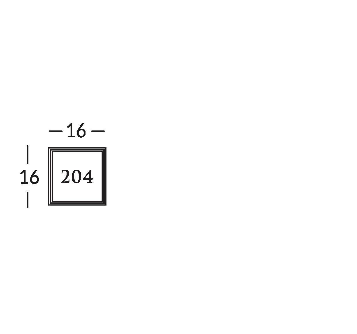 Ligne de signalétique en laiton vieilli avec gravure en bas-relief, sur support en cristal.