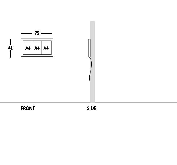 Modèle 3 feuilles A4.