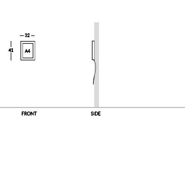 Modèle 1 feuille A4.