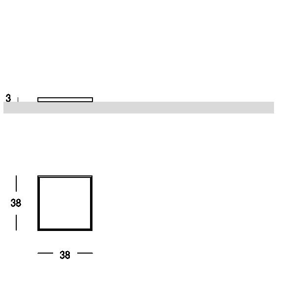 Plateau carré