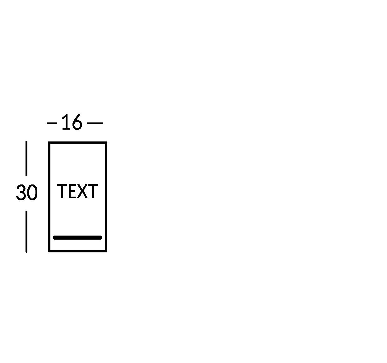 Plaque 1 ligne