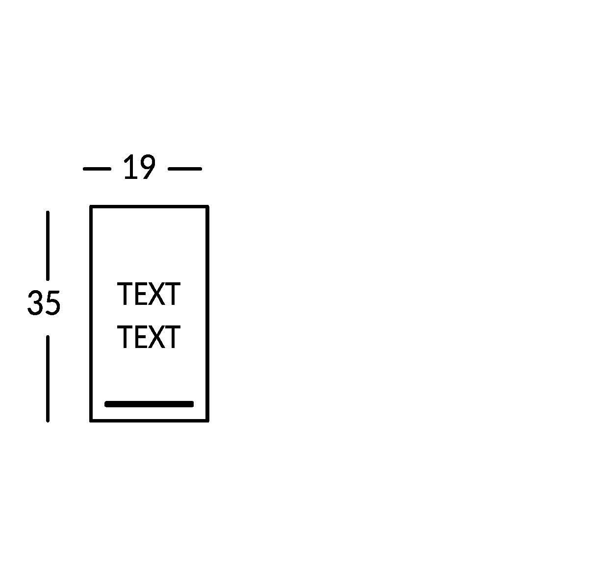 Plaque 2 lignes