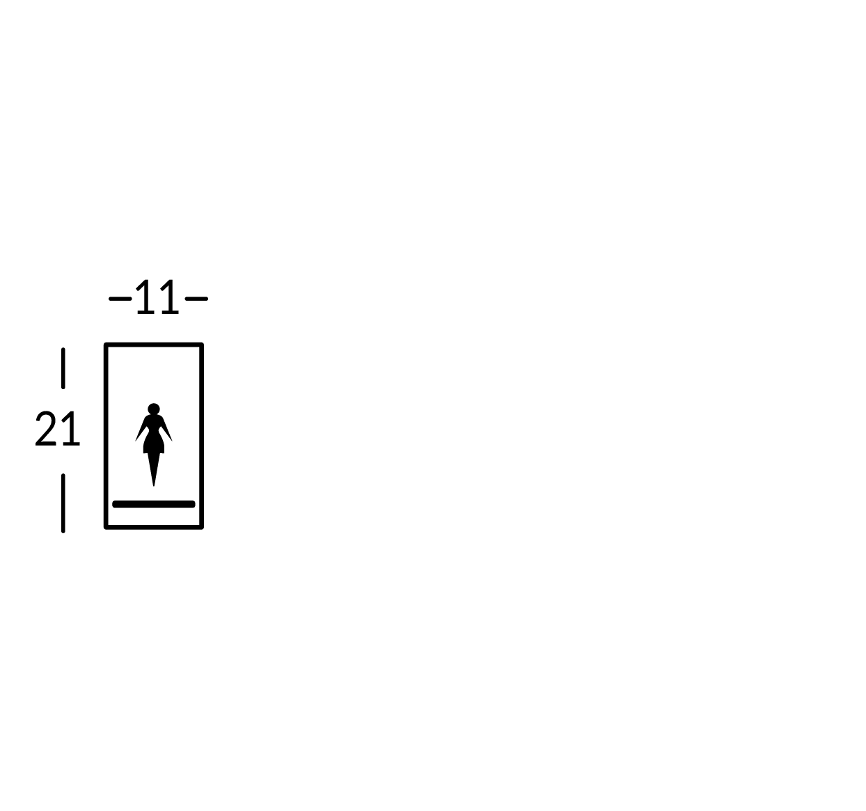 Grande plaque symbole