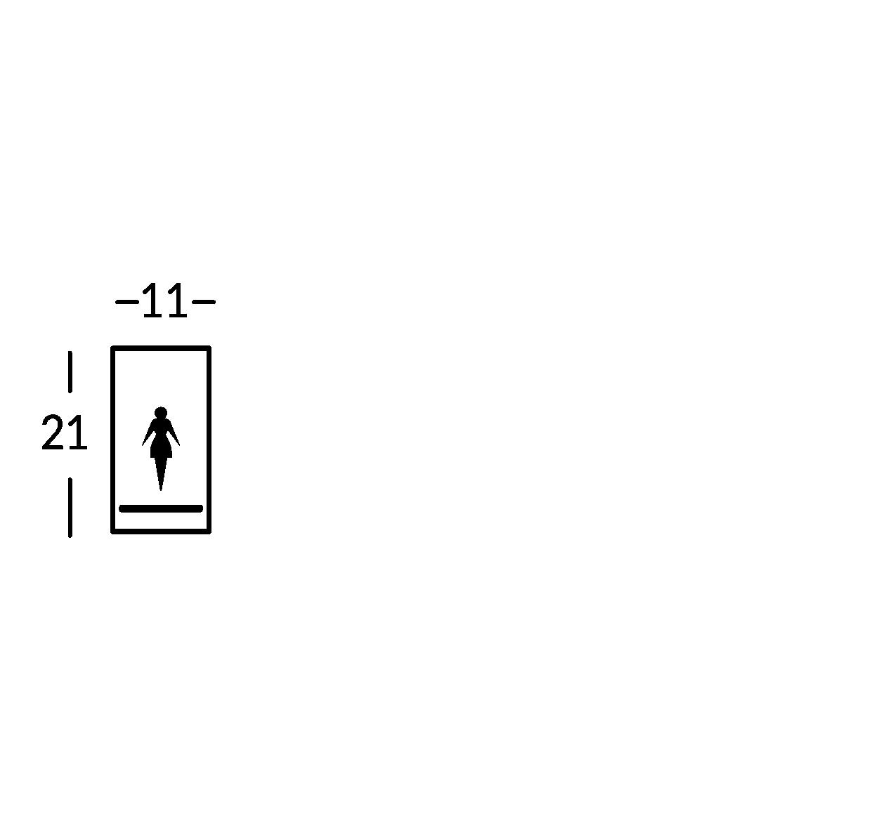 Plaque symbole.