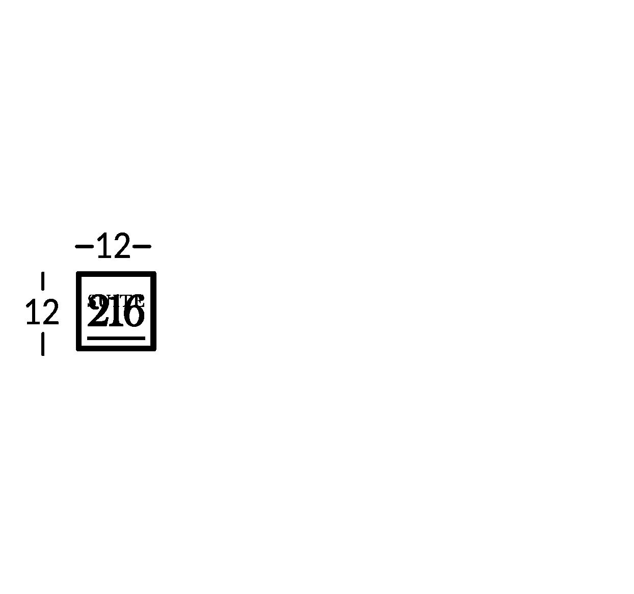 Ligne de signalétique en laiton vieilli foncé, avec caractères gravés en laiton naturel.
