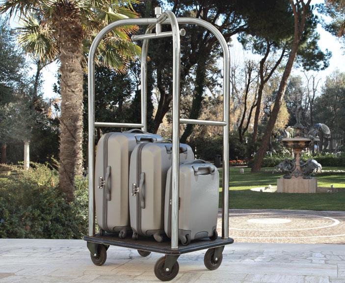 Chariot à bagages pour hôtel